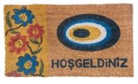 'Hoşgeldiniz' carpet